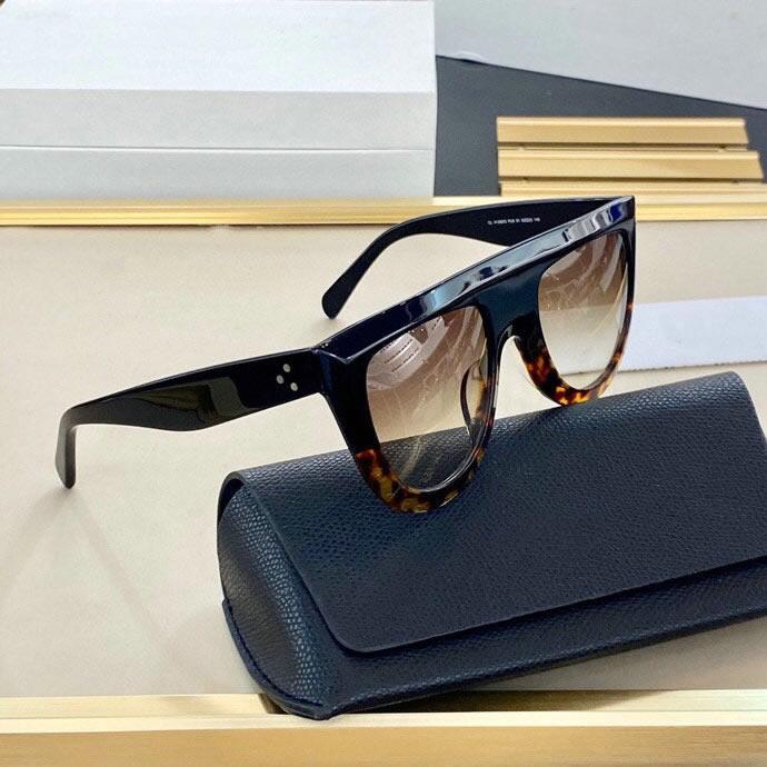2021 여성용 사각형 프레임에 대한 새로운 고급 패션 선글라스 새로운 태양 안경 간단한 분위기 야생 스타일 UV400 보호 렌즈 안경
