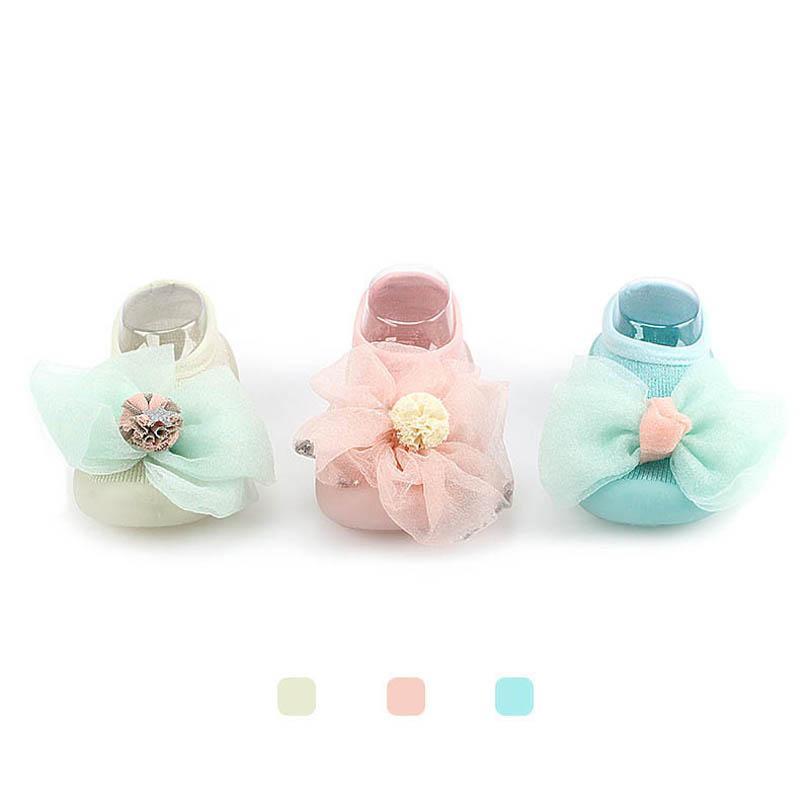 الوليد الأولى مشوا الطفل أحذية طفل رضيع الفتيات الربيع الصيف الرضع ارتداء جيلي الرباط الكرتون زهرة الأميرة B6693