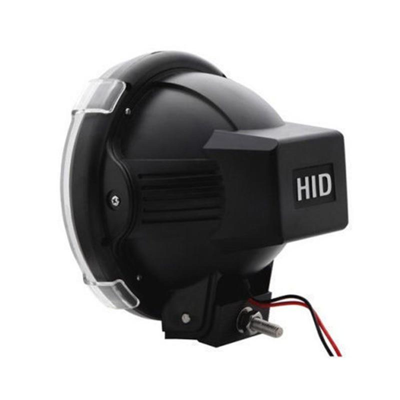 """Linternas portátiles 1 par 7 """"pulgada 12V 100W HID Luces de conducción Xenon Spotlights para la caza Offroad Pesca Camping Punto de trabajo"""