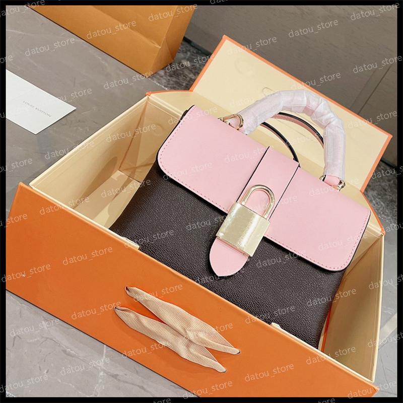 Borsa Good Lussurys Designer Designer Borse da donna Borse a tracolla Blocky Borse Borse Pink Crossbody Tote Bag Fashion Womens Leat Emm DG