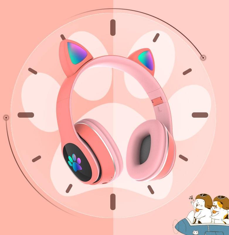 سماعات لاسلكية للكمبيوتر الشخصي لعبة مربع الهاتف 10M سماعة السلكية الرصيفة الرأس 400mAh Bluetooth 5.0 دعم بطاقة FM Pluggable