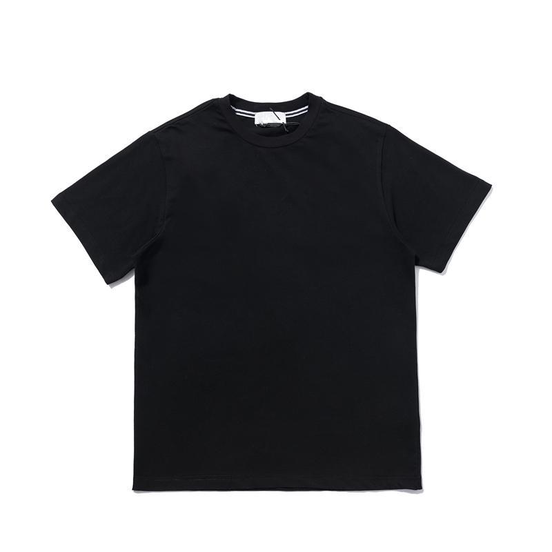 CPTOPSTONEY 2021 Летние Печатные Хлопок с коротким рукавом Повседневная Мода Письмо футболки Мужская шейка с коротким рукавом