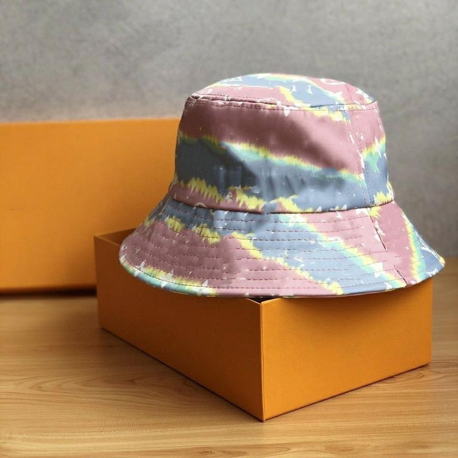 Fashion Rainbow Stampa Cappello classico Brand Cappellini da donna Caps Designer Berryie Cappelli Berretti