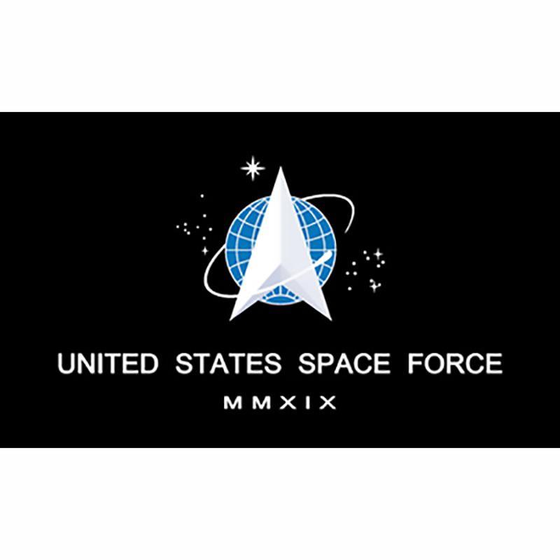 Großhandel Fabrik Preis auf Lager 3x5FT 90x150cm Hängen UsSF-Flagge Vereinigte Staaten Weltraumwaffe und -fahne für Outdoor-Dekoration