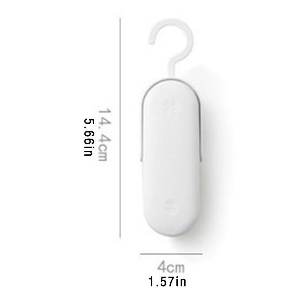 Mini máquina de sellado de alimentos portátil de plástico portátil máquina de sellado de vacío térmico máquina de plástico eléctrico embalaje