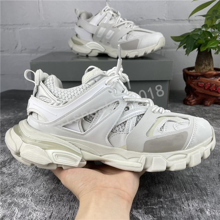 Triple s caminhadas 3.0 sapatos casuais homem mulher sneaker lace-up cores misturadas moda lace up grandpa treinador sapatos chaussures de esporte
