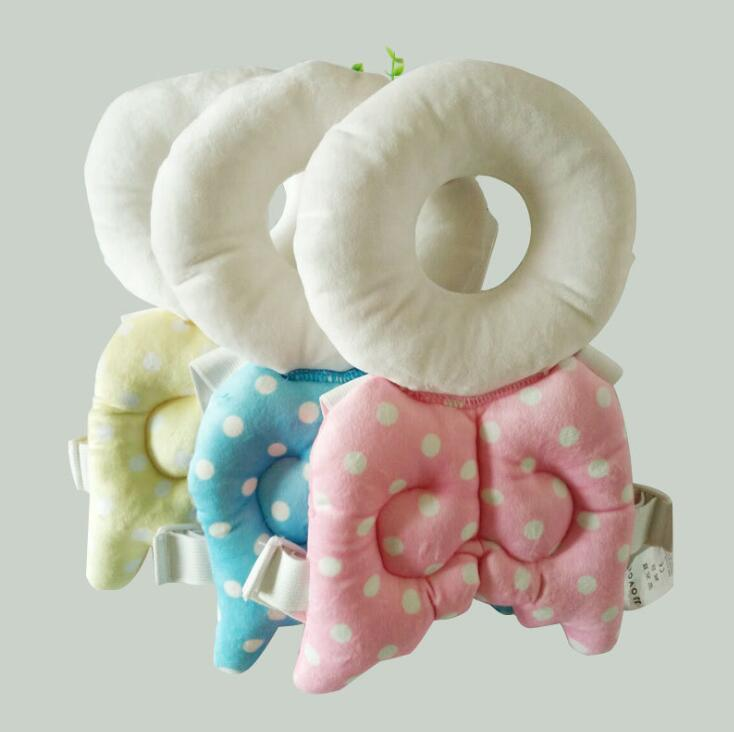 Baby Head Protective Pad Baby Angel Wings Toddler Fall Protective Head Pillow Baby Fall Protective Pillow YL369