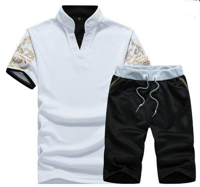 Fashion-Brand Designer Luxury Mens Tracksuits Summer T-shirt Pant Sportswear Fashion Casual Sets Short Sleeve Running Jogging Best Quality