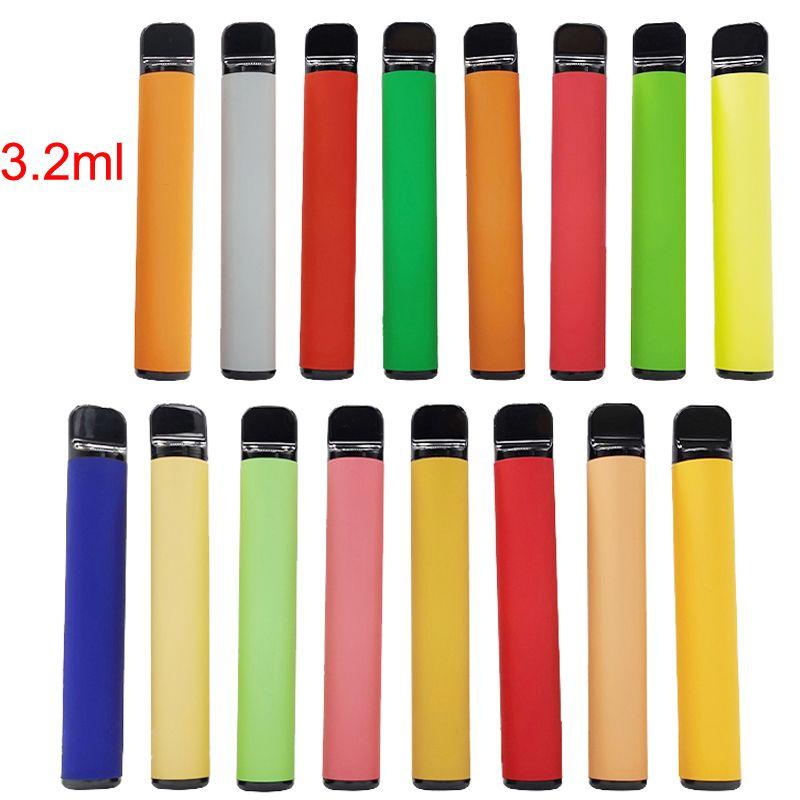 Plus Disposable Device Vape Pen Starter Kits 54 Colors 3.2ml Pods Vape Cartridges Vaporizer Pens E Cigarettes Kit Empty Custom Made