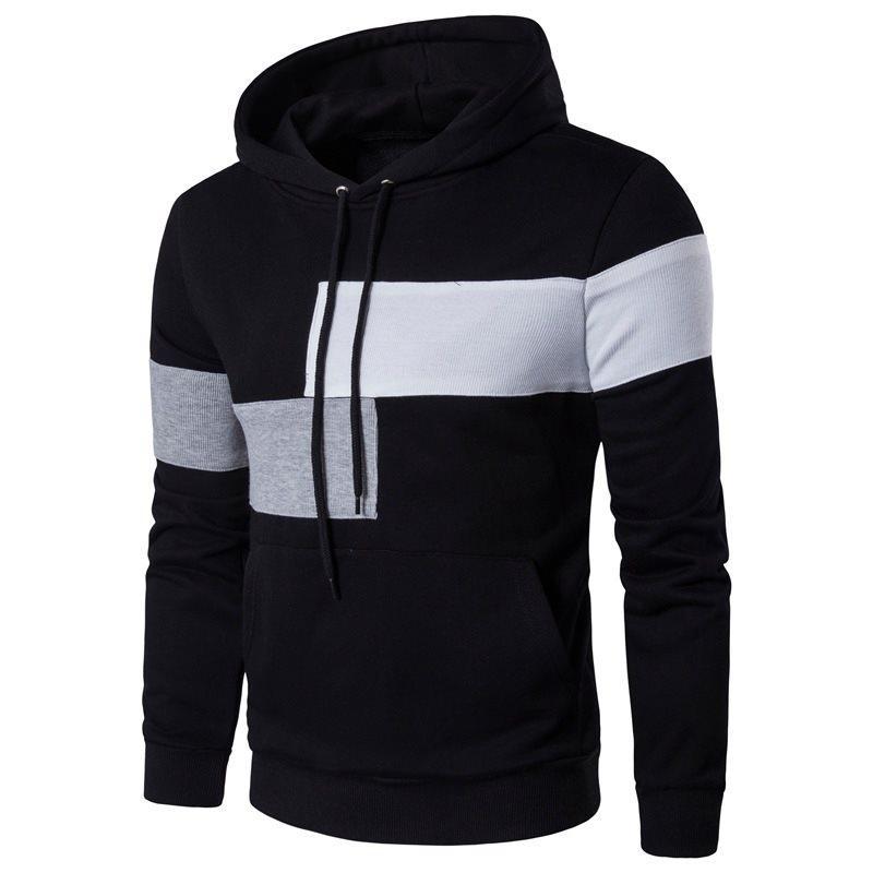Мужская мода свитер с капюшоном мягкий удобный высококачественный пальто шерстяные куртки мужчины вязаные толстые повседневные трикотажные одежды Drossggus