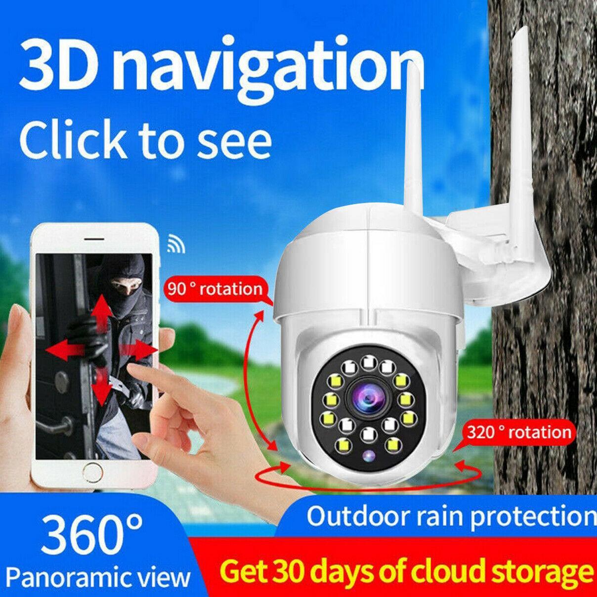 2021 جديد 1080 وعاء الذكية الرئيسية أمن المراقبة كاميرا HD wifi ip لاسلكية الكاميرا في cctv hd ptz الرئيسية الأمن الذكية