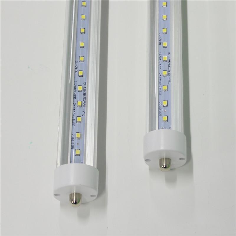 T8 LED-Röhrchen Beleuchtung 6FT 8ft FA8 Ein Stift AC85-265V PF0.95 2835SMD R17D Drehen Fluoreszierende Lampen Lampen Direkt Shenzhen China Fabrik Großhandel