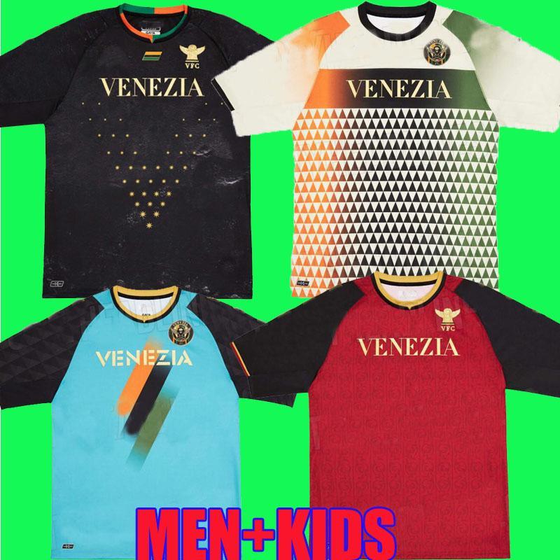 21 22 Venezia FC Futbol Formaları Ev Uzakta Aramu Forte Fiordilino Peretz Hizmans Tessmann Crnigoi 2021 2022 Mariano Johnsen Mazzocchi Futbol Gömlek Adukt Kids Kiti