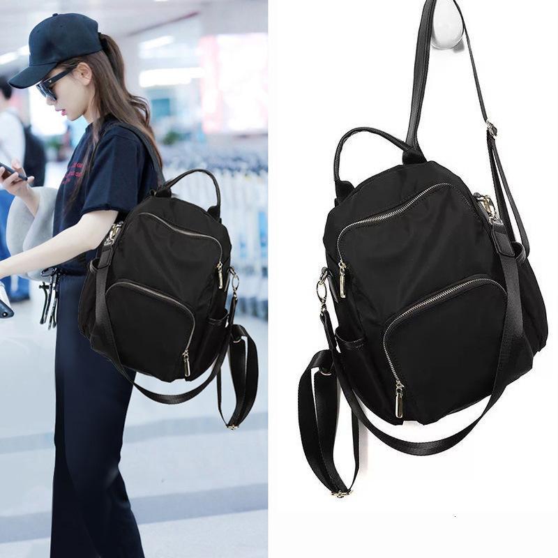 حقيبة الظهر مكافحة سرقة أكسفورد القماش للنساء 2020 جديد الكورية الأزياء قماش حقيبة الظهر
