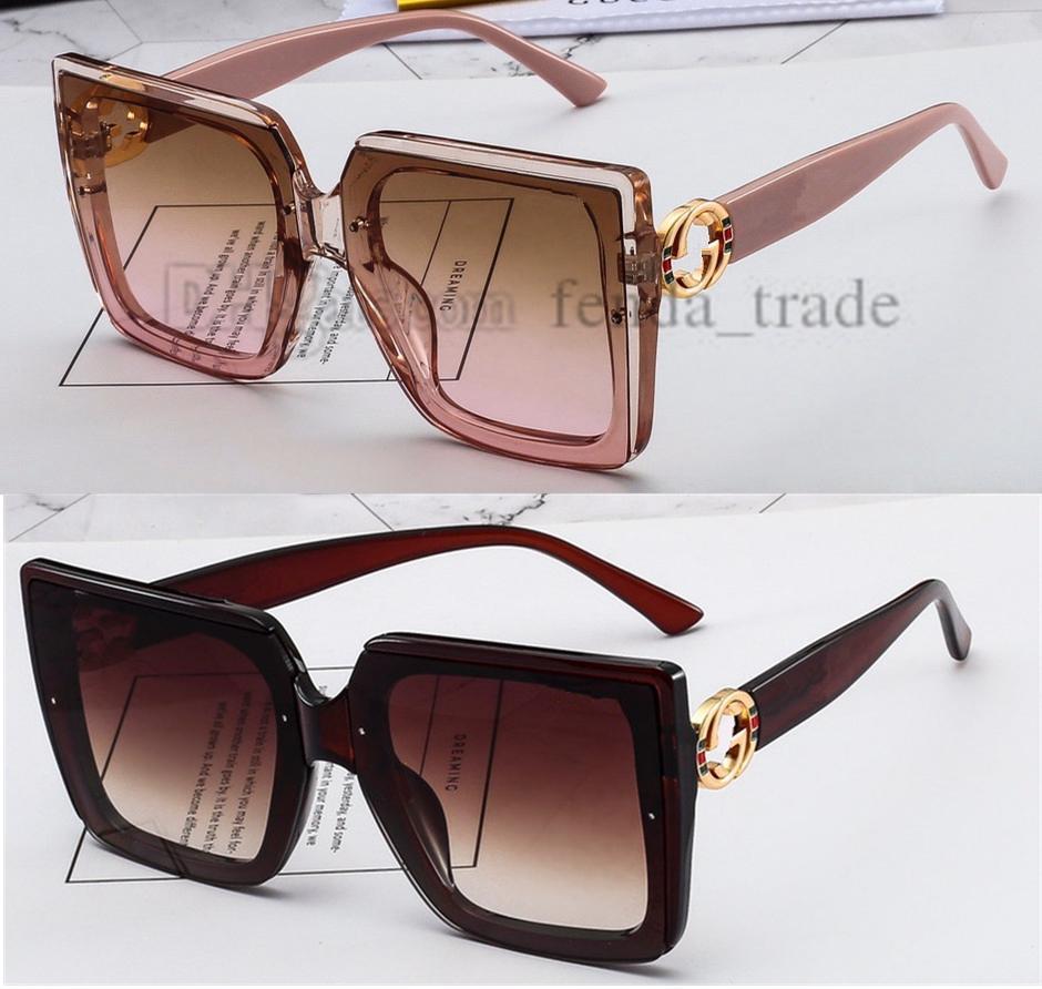 Óculos de Sol Grande Tamanho Luxo Gafas Sol 4 Cores Mulheres Moda Rua Preto Castanho Cor-de-rosa Cor Vintage Gato Olho Marca Designer Oculos de 10pcsl