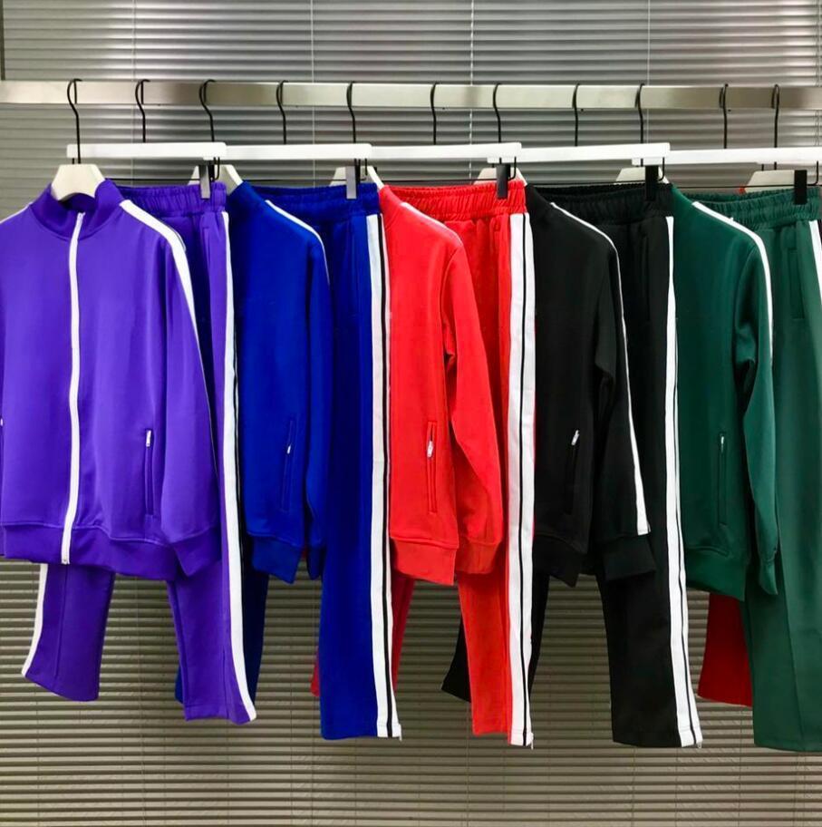 2021 New Mens Womens TrackSuits Casual Giacker Felpa Abbigliamento Abbigliamento Abbigliamento Felpe con cappuccio Pantaloni Felpe Sportswear 21SS Designer uomo Jack