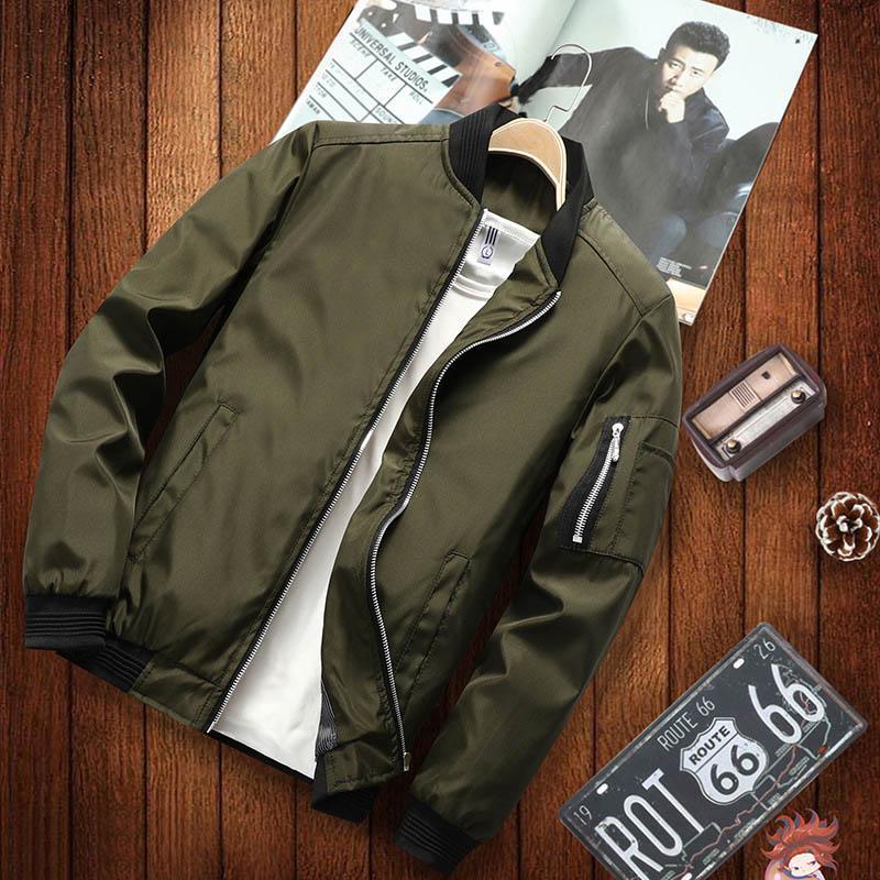 2021 Новая куртка Свободные мужские бомбардировщики мужская повседневная бейсболка для бейсбола моды гладкая уличная одежда