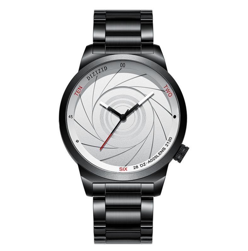 Saatı Relogio Masculino Dizizid Kuvars İzle Erkekler En Deri Erkek Saatler Moda Rahat Spor Saati