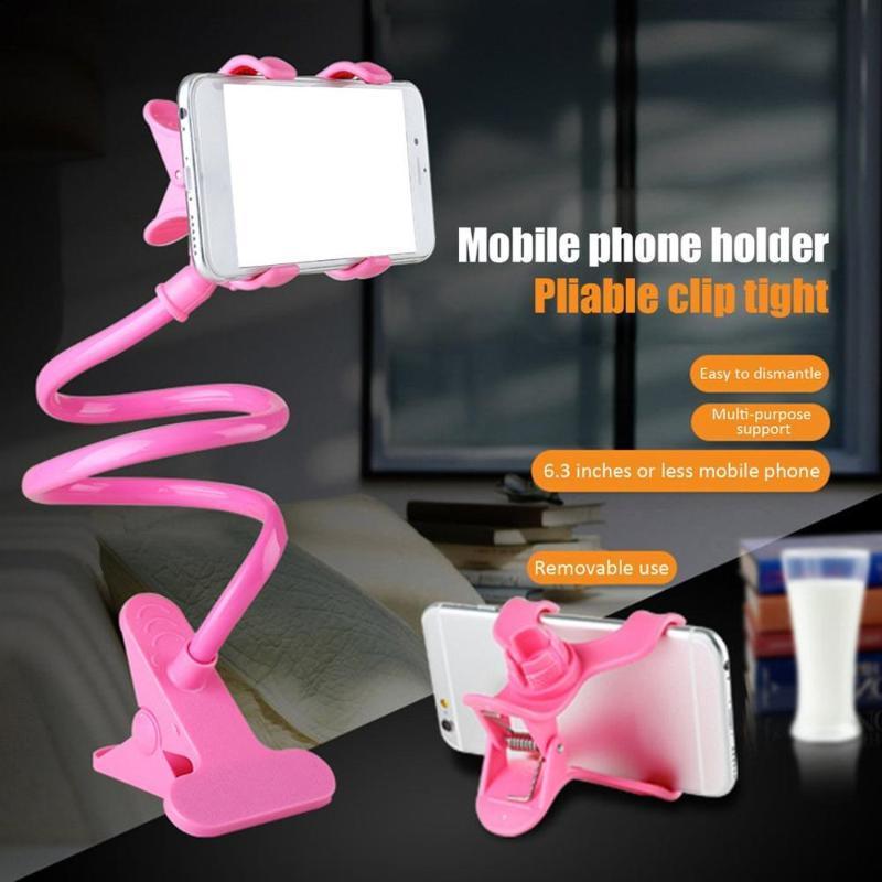 Titulaire de téléphone portable flexible de téléphone portable flexible clip de bureau de bureau de téléphone portable de bureau de bureau de bureau CN (origine)