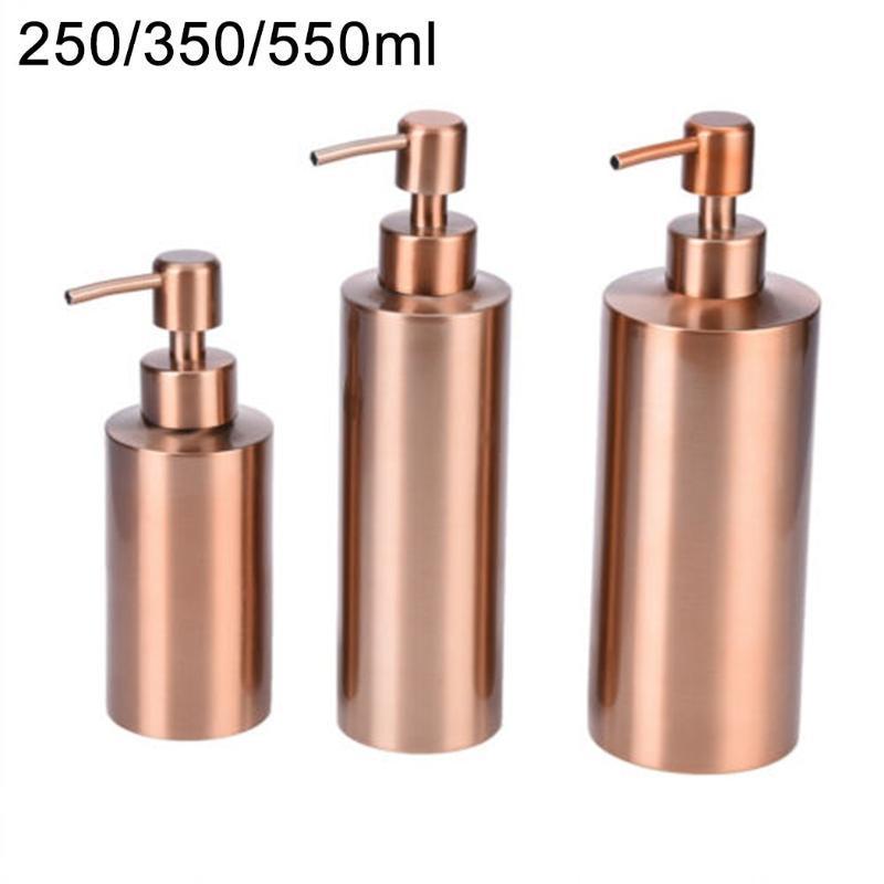 Cocina baño encimera bomba de mano líquido jabón dispensador loción botella plato lavado de platos liquidos de viaje