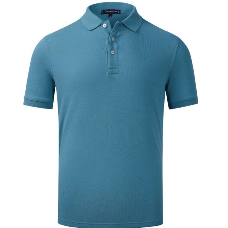 EY6943 Sommer Bestseller Neues Hemd Männer Kurzarm Casual Hemden Mans Solid Classic T-Shirt 2021