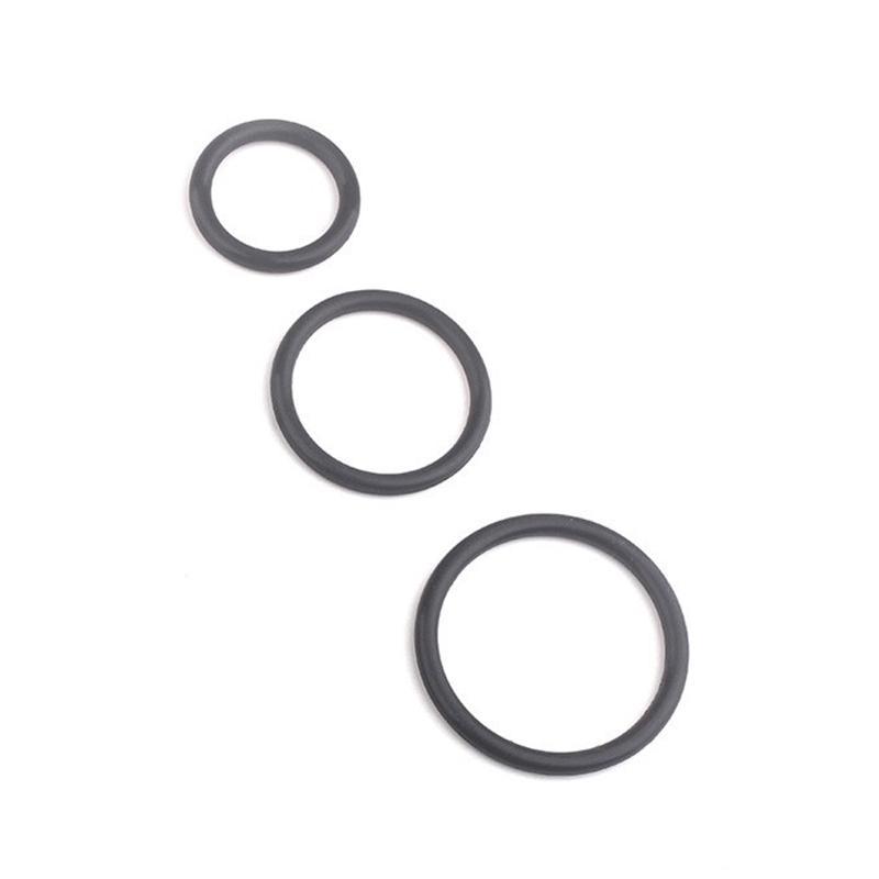 3 шт. Супер растягивающие сильные кольца для человека для человека продукты кольца пенис удлинительное задержка эякуляции времени секс игрушки 21s