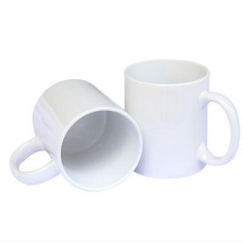 Сублимационные заготовки кружка личности термальная передача керамическая кружка 11 унций белая водяная стакана для вечеринки подарки пневматические поставки для питья морская доставка WWA132