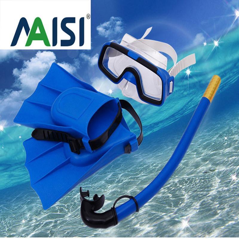 다이빙 마스크 어린이 고글, 스노클링 삼보 양복, 수영 고글 스노클링 핀 훈련 장비 슈퍼 소프트