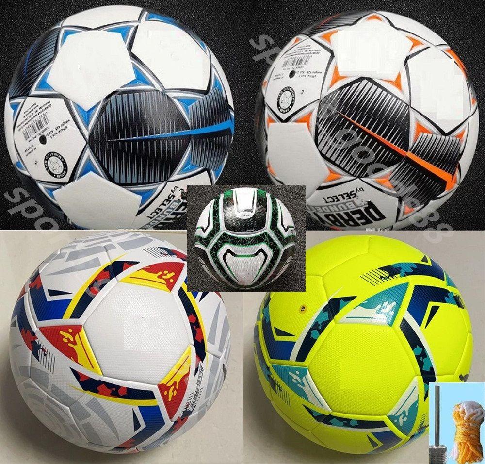 20 21 La Liga Bundesliga Bolas de futebol 2021 Merlin Acc ACC Partícula Partícula Skid RESISTÊNCIA Treinamento 5 Tamanho da bola