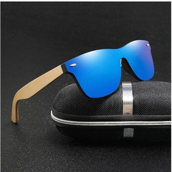 Vintage legno arcobaleno arcobaleno occhiali da sole occhiali da sole uomini bambù occhiali da sole donne design di design sportivo occhiali da sole occhiali da sole sfumature