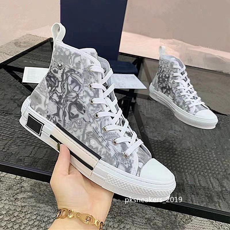 2021 En Kaliteli Tasarımcılar Rahat Ayakkabılar Eğik Teknoloji B23 Tuval Eğitmenler Erkek Bayan Moda Çiftleri Açık Platformu Trainer Sneaker