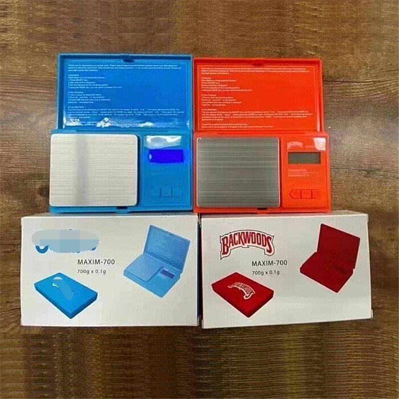 Backwoods Electronic Scale 700G 0.1G Ювелирные Изделия Золото Табач Табак Стулка Вес Весы Измерение Устройство Цифровой Электронный Весы Баланс Flip Стиль Комплект VS Cookies