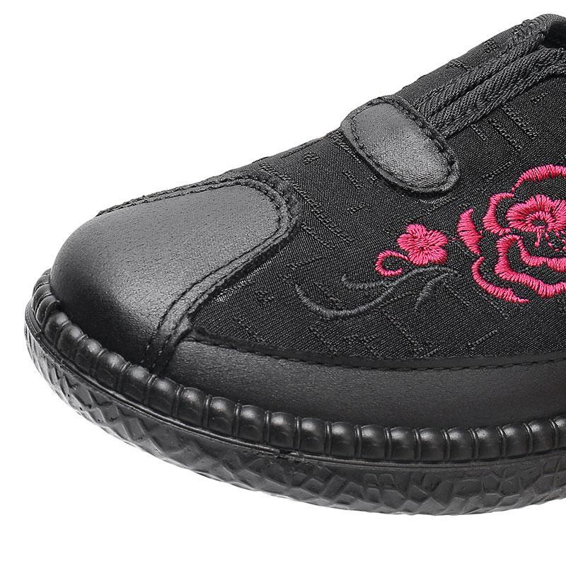 Özerklik Marka kadın İşlemeli Ayakkabı Kırmızı Boyutu 21 En Kaliteli Spor Ayakkabı Düşük Kesilmiş Nefes Pedal Rahat Ayakkabılar