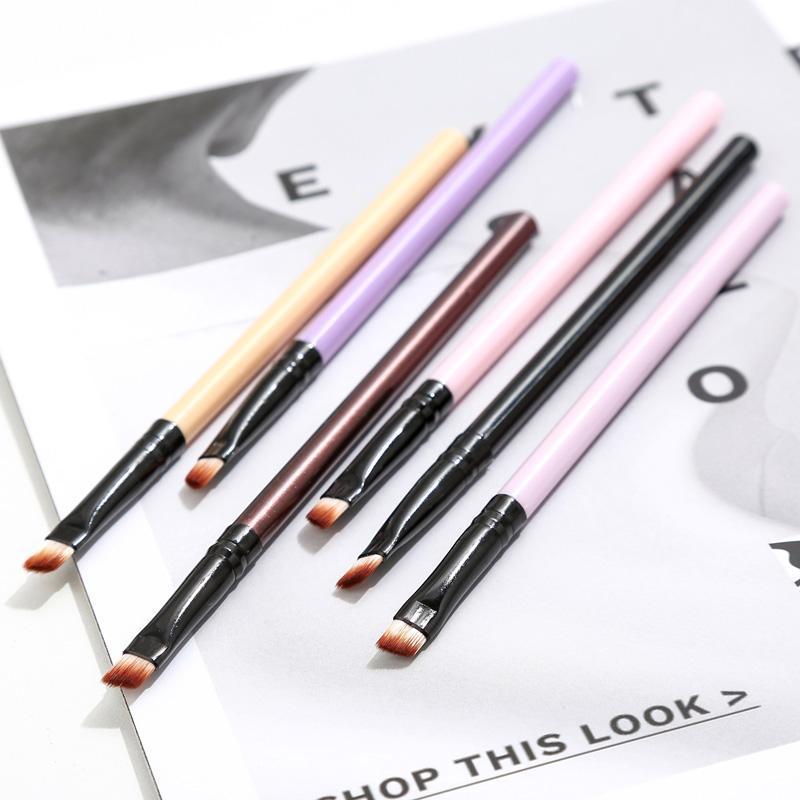 Pennelli per il trucco 6 PZ / Set Spazzola per sopracciglia Set Eye Set Eyeshadow Mascara Blacking Matita Make Up Tools