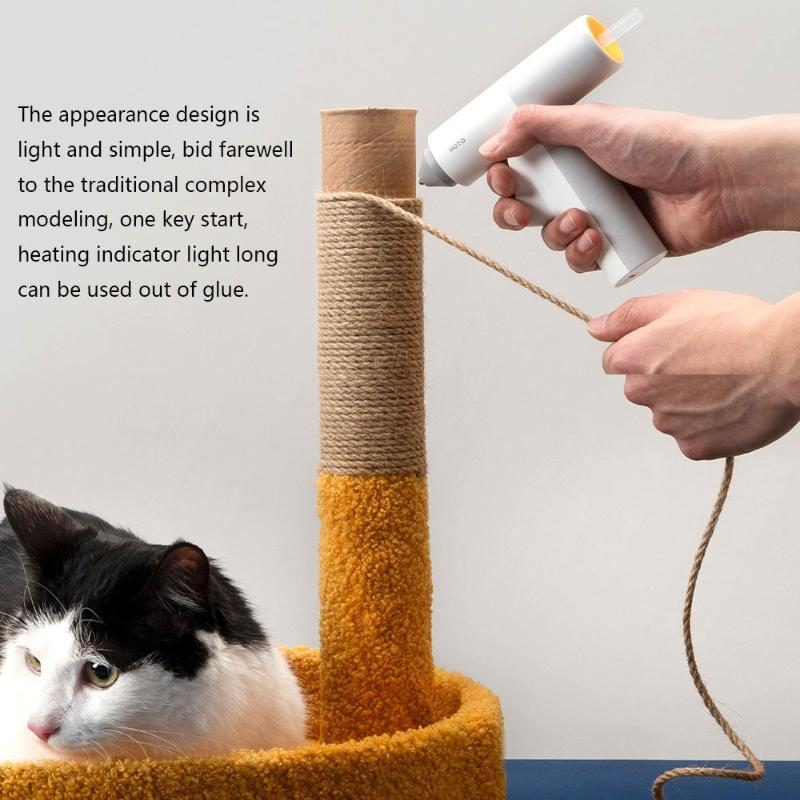 Glue Guns Melt Machine Multifunctional Long Endurance Heat Insulation Heating For Bonding Household Crafts