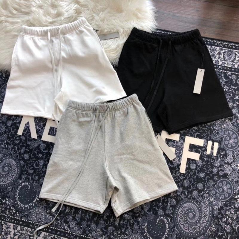 Mens Curta Calças Casuais Essentials Calças Impressas Cartas Com Loops Soltos e Calções Hip-Hop Summer Shorts Top Quality Size S-XL