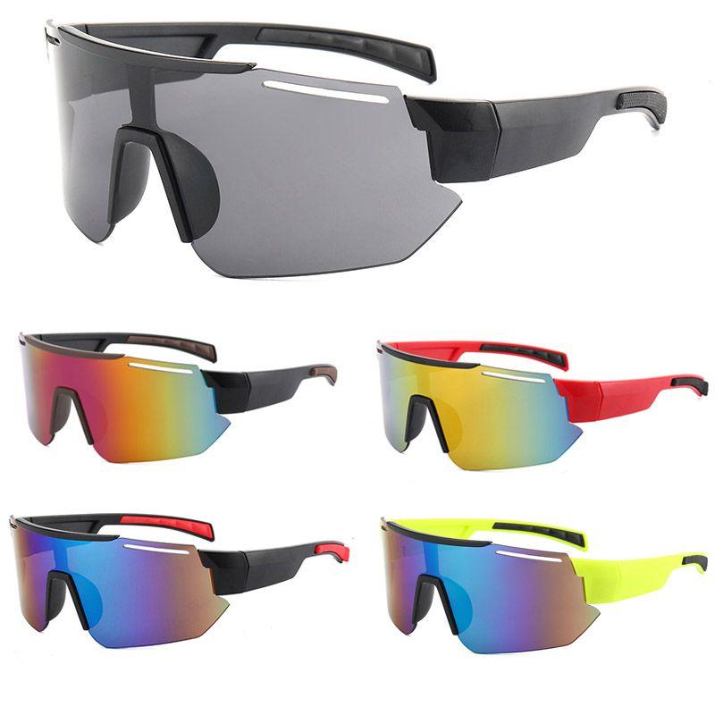 2021 nuevos diseñadores para mujer para mujer Ciclismo sin marco Gafas de sol enamoradas Deporte al aire libre UV 400 Gafas de montar Gafas a prueba de viento Sunglass 9325