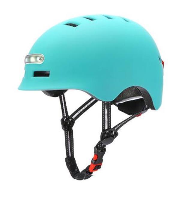 Casco elettrico per biciclette, casco intelligente estivo generale con luce per adulti e bambini