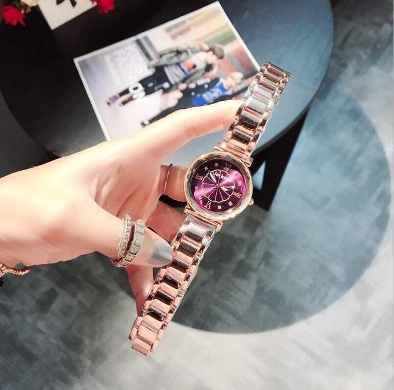 Best Selling Women Hebilla de acero Lucky Watch Luxury Ladies Starry Sky Reloj de cuarzo Dropshipping
