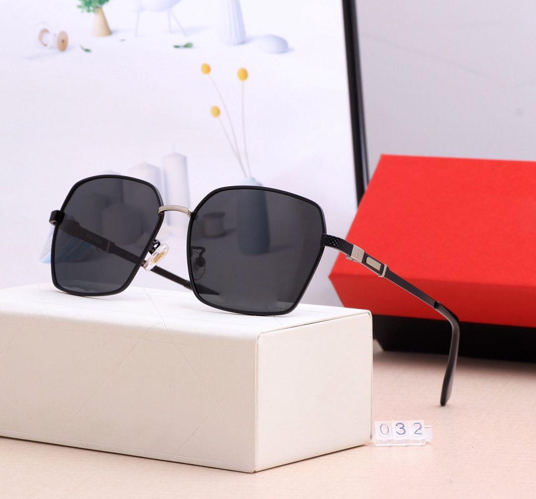 Neue heiße Top Quality Square Herren Übergroße Sonnenbrille Sommer Designer Vintage Gradient Fahrerbrille WIT 032