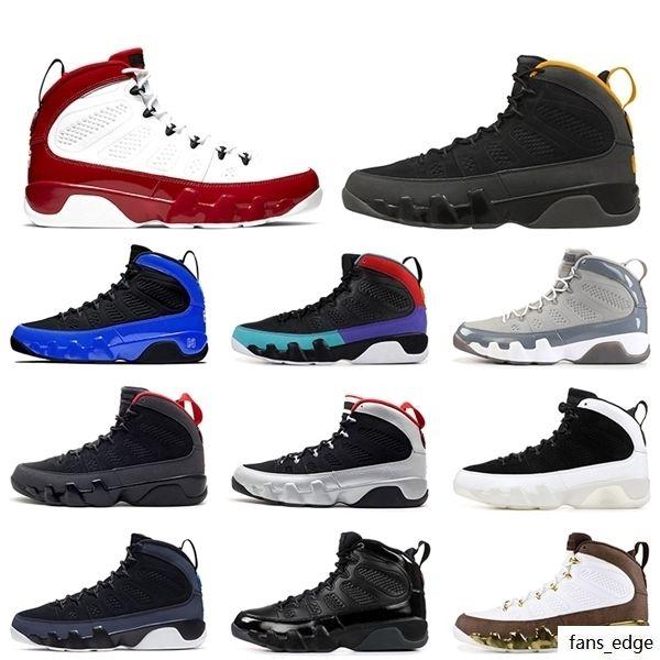 2020 Sıcak Satış Jumpman 9 Spor Salonu Kırmızı 9 9 S Üniversitesi Altın Erkek Eğitmenler Basketbol Ayakkabıları Retro Yanardöner Racer Mavi Sneakers Eğitmenler