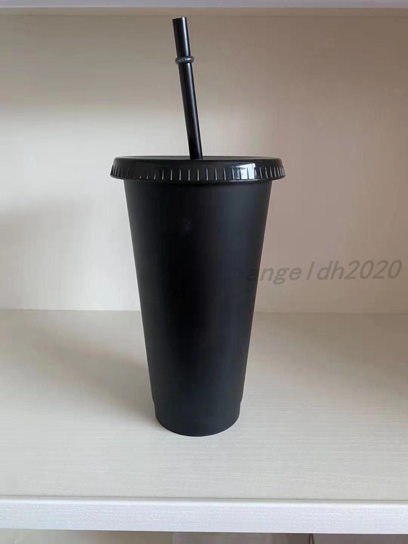 24 Oz-Kunststoff-Getränke-Saft-Tasse und strohmagische Kaffeetasse benutzerdefinierte Starbucks-Plastikbecher, Sie können das Logo anpassen