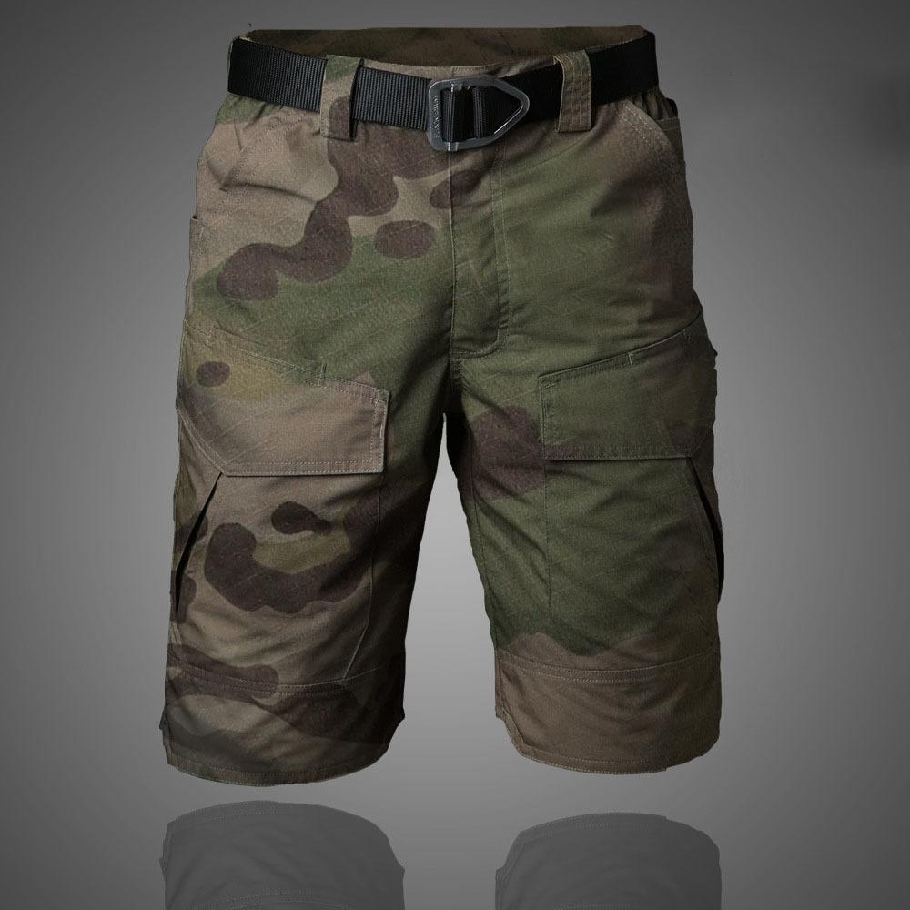 Chevalier Marque Meuge Tactique Mentical Militaire Camouflage Short Multi Poche Été Respirant Respirant Secual Homme Casual Pantalon court C0222