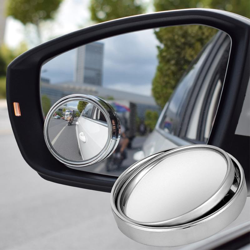 Storage Bags Wonderlife Car 360 Degree Blind Spot Mirror Wide Angle Round Convex Small Side Blindspot Rearview Parking