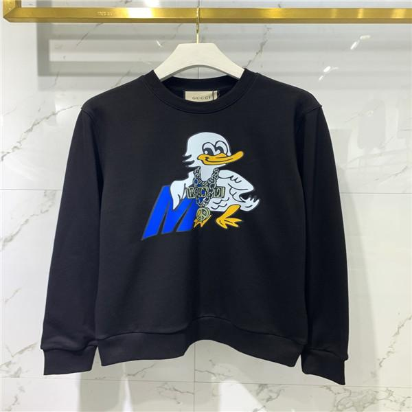 2021 SS Весна и летние Новые Высококачественные Модные Бренд Одежда Мужская Свитер Печать Pullover Длительно Рукаев Sweater8121
