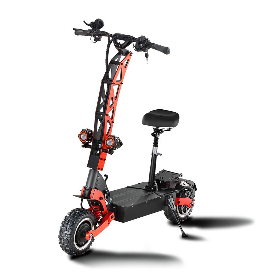 Dual-motor dualtron thunder scooter driving 11 inch tires adult ultra phat scooters bike pk kaabo wolf warrior
