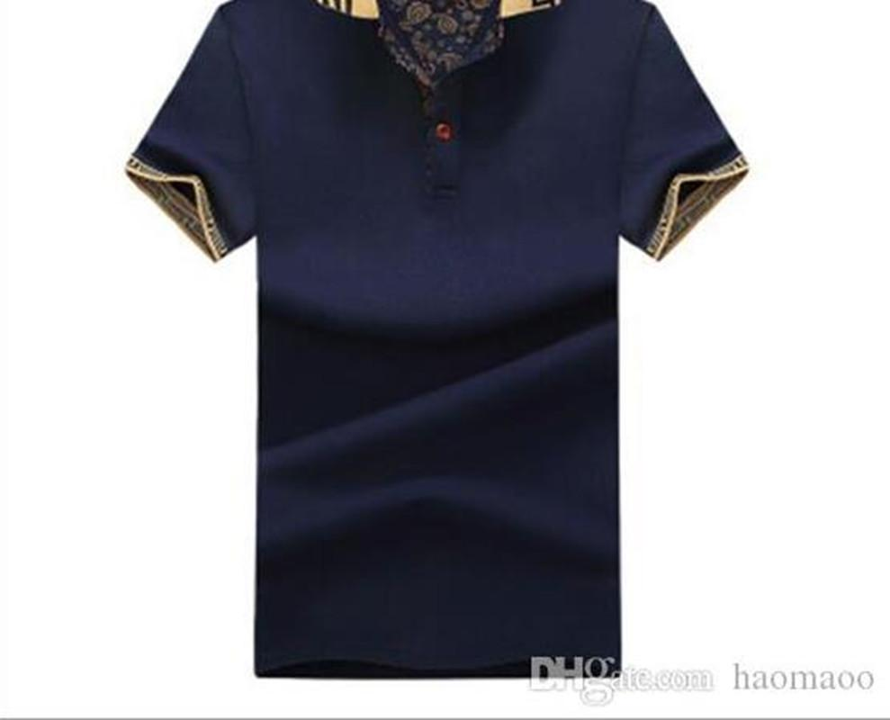 Мода мужской дизайнер Polos с коротким рукавом рубашка футболки T-рубашки Гольфтеннис одежда