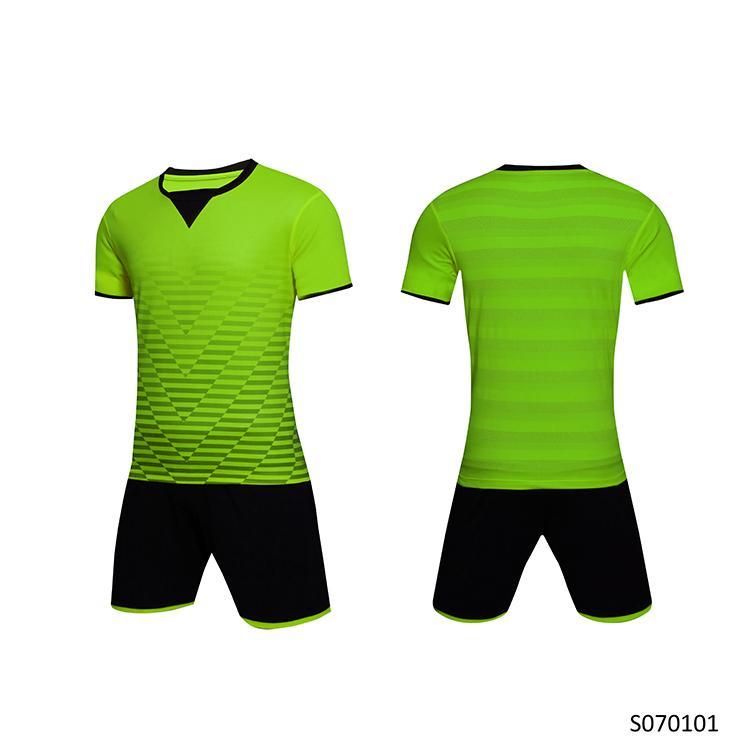 Männer Erwachsene Fußball Jersey Kurzarm Fußball Hemden Fußball Uniformen Hemd + Shorts - SO070101-6