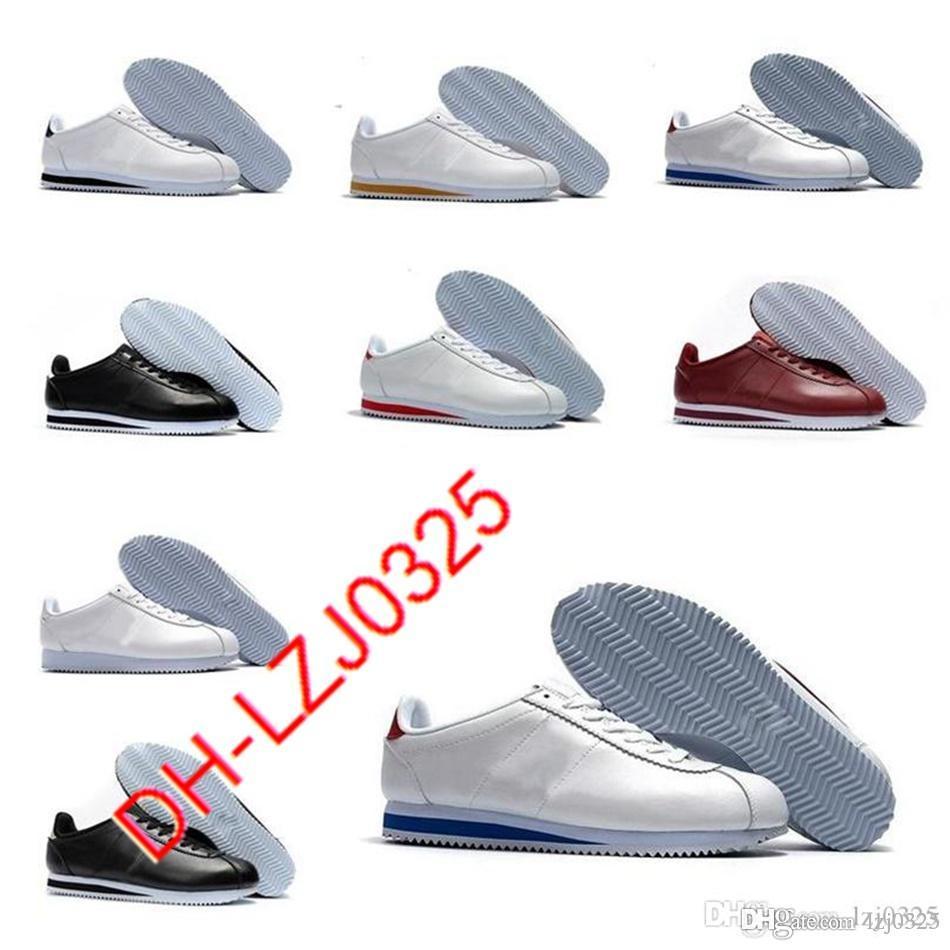 Cortez zapatos Hombres y mujeres Botas informales Zapato Deportes Cuero Original Caminar Tamaño 36-44 A1X-192 ABN155