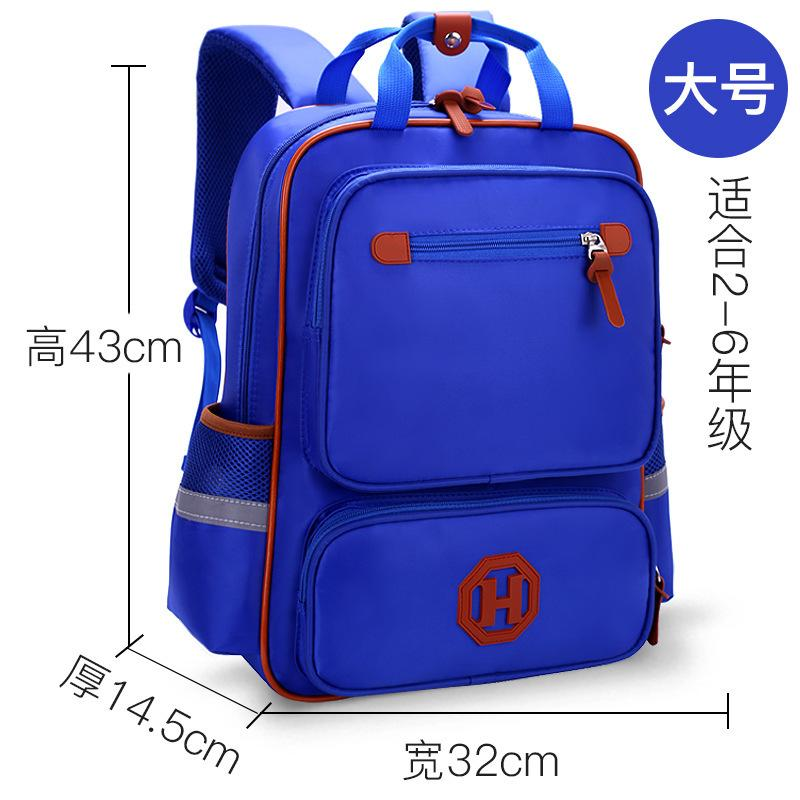 Schoolbag printing British style children's backpack schoolbag for primary school students